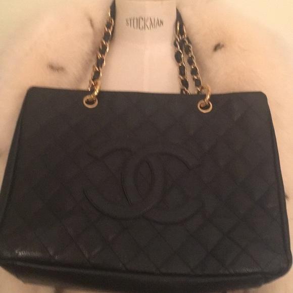5000c706f38b CHANEL Bags   New Black Leather Bag Large   Poshmark